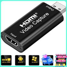 Usb video capture cho laptop, macbook – cổng HDMI