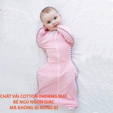 Nhộng ngủ cho bé sơ sinh Chính hãng LionBear , giúp bé ngủ ngon, sâu giấc, không giật mình, nhộng chũn chất cotton tre, hàng xuất Úc, full hộp, tặng kèm quà, Tulifly Store