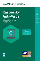 phần mềm Kaspersky Anti-Virus 3 thiết bị 2020, 2021