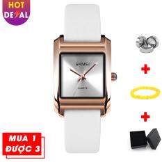 Đồng hồ nữ dây da thời trang cao cấp, trẻ trung năng động SKMEI SK1432 – đồng hồ dây da chạy lịch – đồng hồ nữ – đồng hồ nữ dây da – đồng hồ nữ thời trang – đồng hồ SKMEI