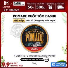 Pomade gốc nước độ bóng cao 5, giữ nếp vượt trội 10 Dashu Classic Incredible Shine Pomade 100g dùng cho mọi loại tóc, tốt cho người châu á, thành phần thảo dược an toàn, lành tính, không gây hại cho tóc và da đầu.