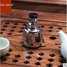 Đầu Tăng Áp cho vòi rửa chén rửa bát loại mới- Tăng Áp Lực Nước 2 Chế Độ Phun xoay 360 độ ,thiết kế đồng bộ vòi nước (ĐẦU VÒI LOẠI TỐT))