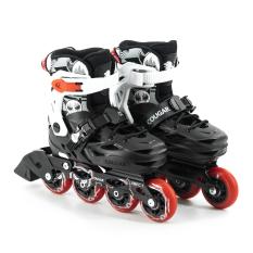 Giày Patin Cougar Pro (3 màu) đen, xanh, hồng Tặng kèm túi đựng giày patin cho bé