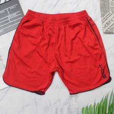 Quần đùi Nam – Thể thao tập gym ECHT – Chất liệu vải mè poly nhập khẩu, logo in tranfer firm không thể bong tróc, 2 túi 2 bên hông, lưng bằng thun co giãn.