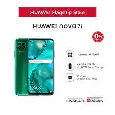 VOUCHER 50K + TRẢ GÓP 0% | Diện thoại Huawei Nova 7i (8GB/128GB) | Bộ 4 camera sau chụp ảnh linh hoạt | Màn hình LCD 6.4 inch độ phân giải | Full HD+ Cảm biến vân tay tích hợp nút nguồn