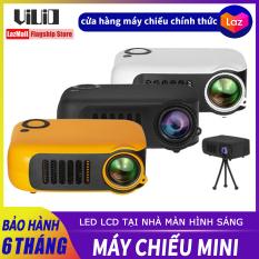 VIUIO A2000 Máy chiếu LCD mini cầm tay Hỗ trợ 1080P 4K HD Rạp chiếu phim tại nhà Máy chiếu USB Media Player TV Phim điện thoại Điện thoại thông minh PC Projektor