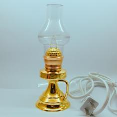 Cặp đèn dầu cắm diện – Bóng đèn LED cao 16CM