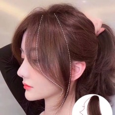 TÓC MÁI MAI GIẢ thẳng Basic Style Hàn Quốc – Tóc mai dài 2 bên thả nhẹ nhàng tiểu thư – Mái thẳng dài bên mai