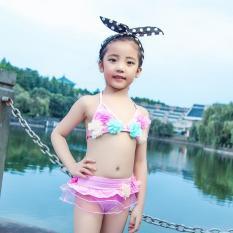 Đồ bơi bé gái 3-5 tuổi B15