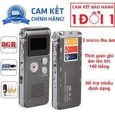 Máy Ghi Âm Kỹ Thuật Số Mini 8GB Ghi Âm Giọng Nói, Dictaphone Máy Nghe Nhạc MP3
