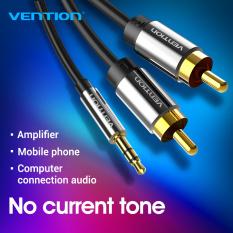 Vention RCA Đường dây âm thanh 3.5mm sang 2RCA Audio Jack Cable 3.5mm Âm Thanh Stereo Cable Cho Điện Thoại Thông Minh Amplifier Rạp Hát Tại Nhà DVD RCA Đường dây âm thanh
