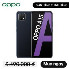 Điện thoại OPPO A15 – 3GB/32GB – Gian hàng chính hãng OPPO