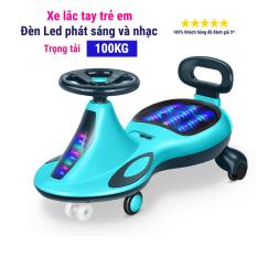 Xe lắc vận động cho bé có đèn led phát sáng và nhạc vui nhộn YTH-068 (Dành cho bé 1-10 tuổi)