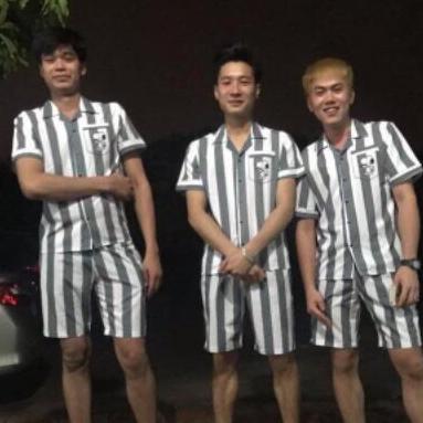 Dang Thanh Fashion Bộ Tù Kẻ Sọc – quần áo phạm nhân kèm ảnh thật. Quần áo nam > Đồ bơi nam