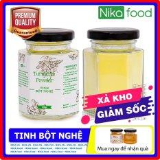 Nikafood Tinh bột nghệ vàng 100gr tặng Mật ong hoa/phấn hoa