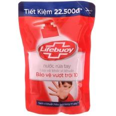 (túi đẹp – 450g) Nước rửa tay Lifebuoy Bảo vệ vượt trội 10