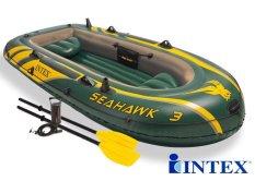 Bộ thuyền bơm hơi Seahawk 3 người INTEX