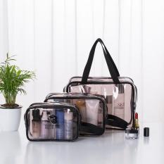 Túi nhựa PVC trong suốt đựng mỹ phẩm du lịch H1074