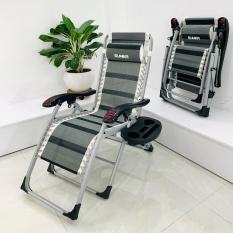 Ghế xếp thư giãn SUMIKA 199 – lăn tay massage, khung vuông cao cấp