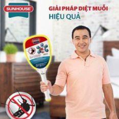 Vợt muỗi Sunhouse – Vợt muỗi – Vợt muỗi chính hãng bảo hành 1 tháng