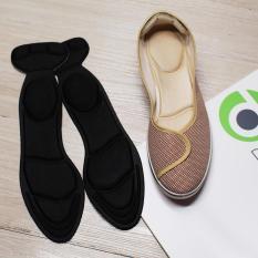 Một cặp lót giày nữ cực êm chân dùng giảm size giày bị rộng chống rớt gót, lót giày nữ êm chân dùng mang giày búp bê giày cao gót, lót giày nữ chống trầy gót chân, lót giày nữ giảm thốn gót chân khi mang giày cao gót, giày búp bê – Loại nguyên bàn chân