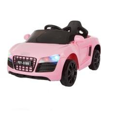 Ô tô xe điện AUDI FEY-5189 đồ chơi vận động cho bé tự lái và remote (Trắng-Hồng-Đỏ)