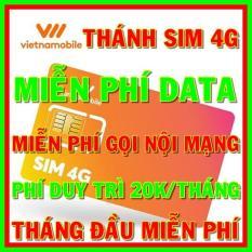 Thánh sim 4G Vietnamobile mới Miễn phí DATA không giới hạn + Nghe Gọi Và Nhắn Tin Nội Mạng Miễn Phí – Phí duy trì 20k/tháng – Shop Sim Giá Rẻ