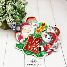 Dây Cờ Merry Christmas Ông Già Noel + Người Tuyết – Whitestore.vn
