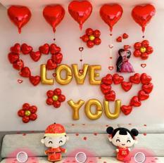 Bộ trang trí phòng cưới tân hôn cô dâu, chú rể chữ love – Phụ kiện trang trí tiệc cưới, sinh nhật – Đồ trang trí phòng cưới – Bong bóng trang trí đám cưới – Chữ trang trí lễ tình yêu – Sét trang trí lễ tình nhân – Happy wedding – Valentine