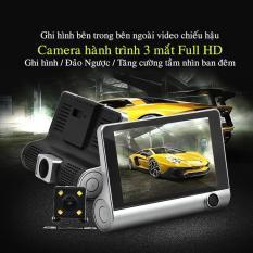 [ Công Nghệ ] Camera hành trình ô tô 3 mắt camera, màn hình 4 inh full HD 1080, Camera xe hơi , camera hành trình otofun , Camera hành trình Nhật Bản 2 cam trước sau cho Ô tô – hình ảnh chân thực chuyển động siêu nét.