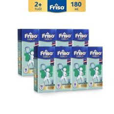 8 Hộp Sữa uống dinh dưỡng Friso 180ml