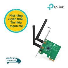 TP-Link Card mạng PCI Express Wifi Băng tần kép Chuẩn N 300Mbps Tín hiệu WiFi mạnh mẽ- TL-WN881ND-Hãng phân phối chính thức