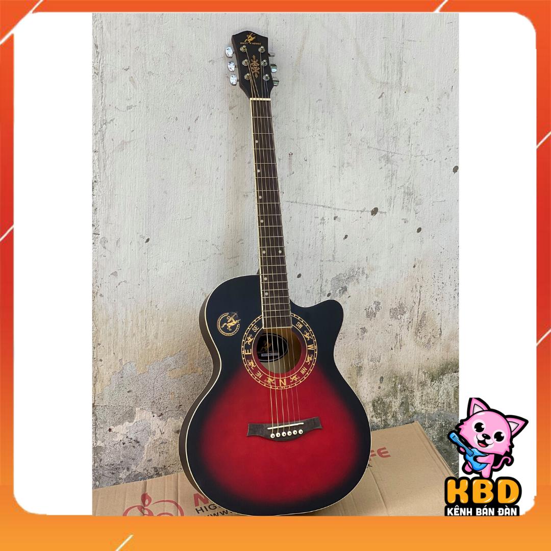 Đàn Guitar Acoustic Cao cấp S75 có ty chỉnh cần [TẶNG KÈM KHÓA HỌC] – gia công tỉ mỉ mang đến âm thanh sáng và vang