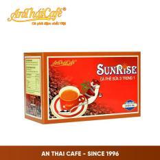 Cà phê 3 trong 1 Sunrise (Hộp 20 gói x 18gr) – AnTháiCafé