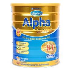 Tặng 1 Nồi inox FiveStar 20cm – Bộ 4 Lon Sữa Bột Dielac Alpha Gold 3 1.5kg – Dành cho bé 1-2 tuổi – HSD luôn mới