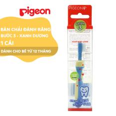 Bàn chải đáng răng Pigeon bước 3 – màu xanh dương