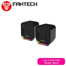 Loa vi tính gaming siêu gọn nhẹ có LED dùng cho điện thoại, máy tính… Fantech GS202