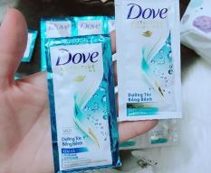 Combo 50 gói dầu gội + dầu Xả Dove 6g
