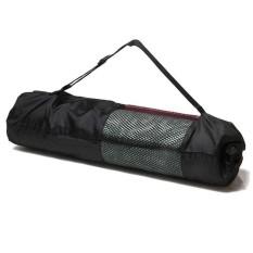 Thảm Yoga Lưu Trữ Túi Lưới Túi Dây Rút PVC Dây Đeo Điều Chỉnh