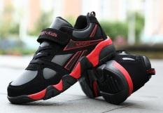 Giày thể thao bé trai siêu nhẹ thoáng khí size đại 29-40 (4 mẫu cam đỏ vàng đen) – sneaker cho bé – giày bé trai G002
