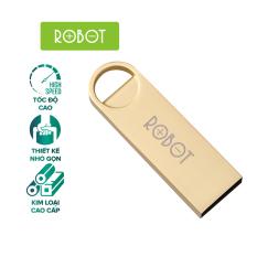 USB Thiết bị lưu trữ 16GB/32GB ROBOT RF316/RF332 Flash Drive kim loại siêu nhẹ kết nối nhanh l HÀNG CHÍNH HÃNG