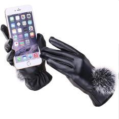 Găng tay bao tay da nữ lót lông cảm ứng-Găng tay nữ hàn quốc chất liệu da cảm ứng lót nỉ-găng tay xe máy-găng tay nữ-găng tay mùa đông-găng tay cảm ứng