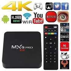 Android TV Box MXQ 4K Android 5.1 (Đen)