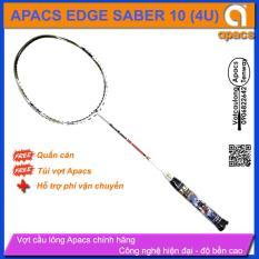 Vợt cầu lông Apacs Edge Saber 10 (4U)   Bạch mã hoàng tử, cân bằng công thủ