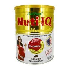 Sữa Bột Nuti IQ Mum Gold 900g Hương Sô Cô La
