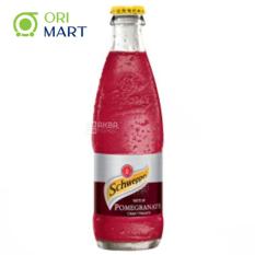 Schweppes Taste of Pomegranate 250ml – Nước ngọt có ga hương vị quả lựu SCHWEPPES 250ml