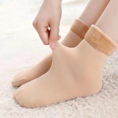 1 Đôi tất lót lông cực ấm giữ nhiệt, co giãn, không phai phàu, không bai nhão