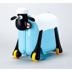 Va Li Trẻ Em Kiêm Xe Chòi Chân Cho Bé Cừu Vui Vẻ Shaun The Sheep Thương Hiệu Tới Từ Anh | Màu Xanh | Màu Đỏ