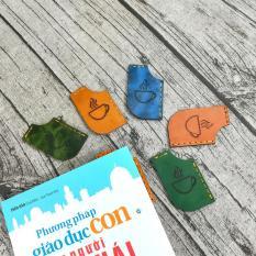 [Clip] Combo 3 Bookmart sách, đánh dấu trang da bò khâu tay thủ công – Giao Màu Ngẫu Nhiên