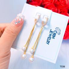Bông tai thời trang nữ, bông tai thiết kế thời thượng Orin T536